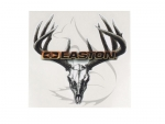 "Easton Sticker Color Skull and Rack 5.5"" x 4.25"""